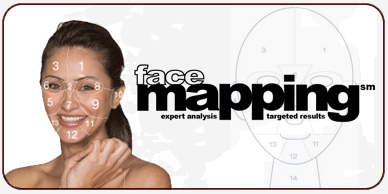 Dermalogia face mapping