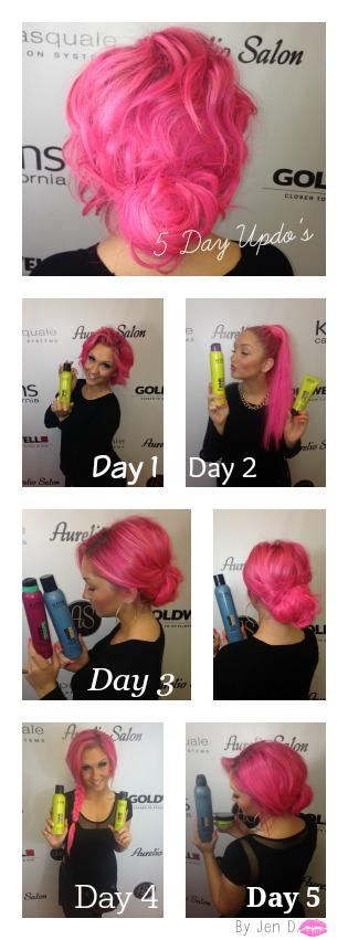 Aurelio Salon 5 day hairstyles