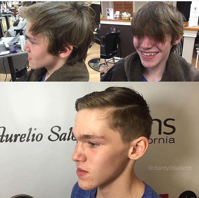 Men's Haircuts at Aurelio Salon